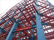 پاورپوینت بررسی رفتار سازه های فولادی