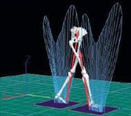 پاو وینت مکانیزم راه رفتن انسان